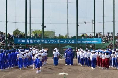 14 球技大会 開会式様子