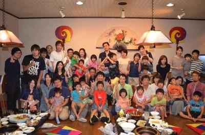 14 家族親睦会 集合写真