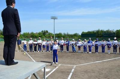 14 球技大会 選手宣誓